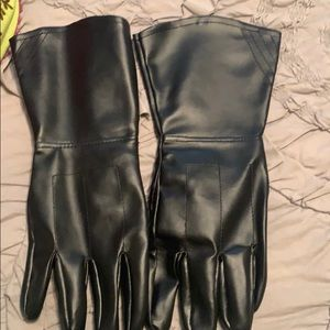 Other - Vegan leather gloves